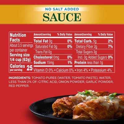 Hunt's No Salt Added Tomato Sauce