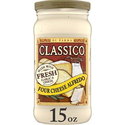 Classico Four Cheese Alfredo Pasta Sauce