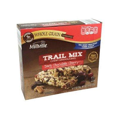 Millville Dark Chocolate Cherry Trail Mix Bars