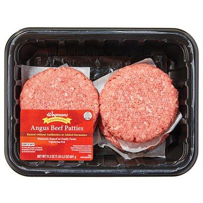 Wegmans Food You Feel Good About Angus Beef Patties