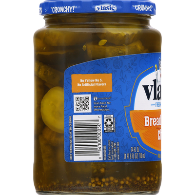 Vlasic Pickles, Bread & Butter, Chips