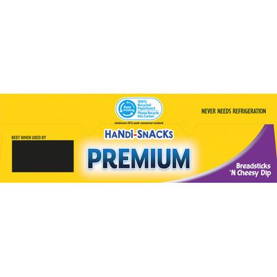 Handi-Snacks Premium Breadsticks 'n Cheese Dip