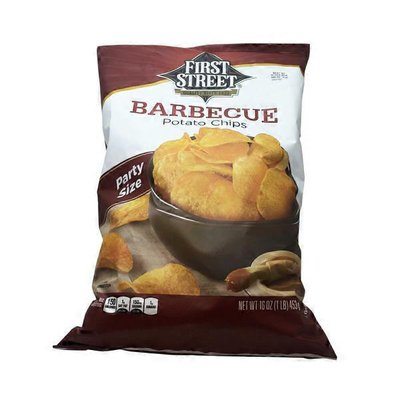 First Street Barbecue Potato Chips