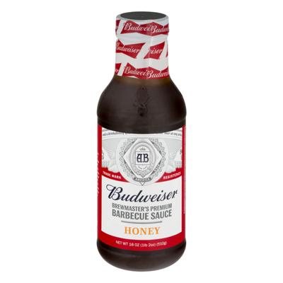 Budweiser Brewmaster's Premium Barbecue Sauce Honey
