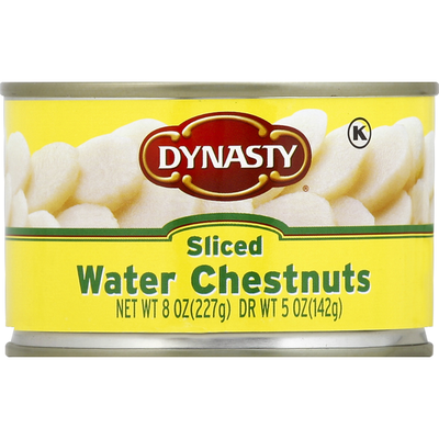 Dynasty Water Chestnuts, Sliced