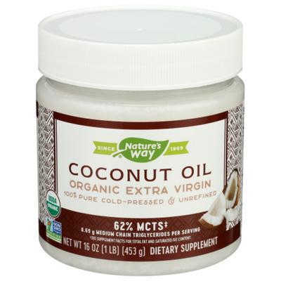 Nature's Way Organic Extra Virgin Coconut Oil