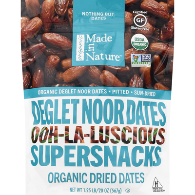 Made In Nature Deglet Noor Dates, Ohh-La-Lucsious