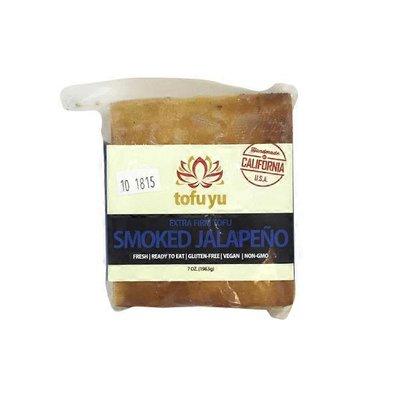 Tofu Yu Gluten Free Smoked Jalapeño Extra Firm Tofu