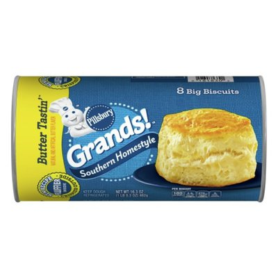Pillsbury Grands!, Southern Homestyle, Butter Tastin', 8 Count