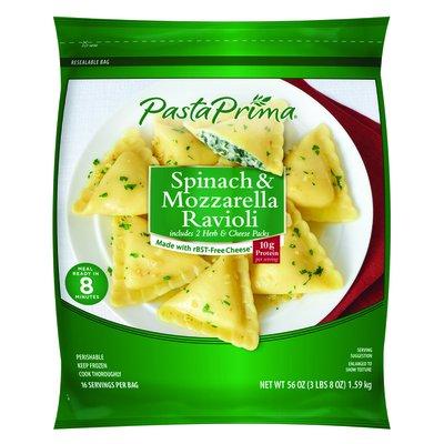 Pasta Prima Frozen Spinach & Mozzarella Ravioli