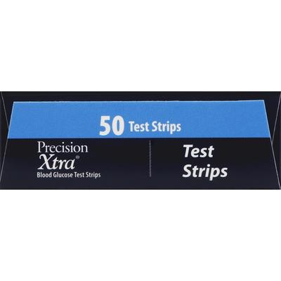 Precision Xtra Test Strips, Blood Glucose