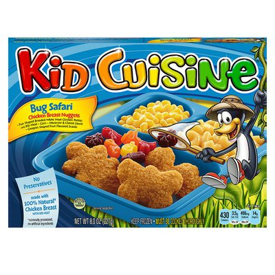 Kid Cuisine All American Chicken Breast Nuggets
