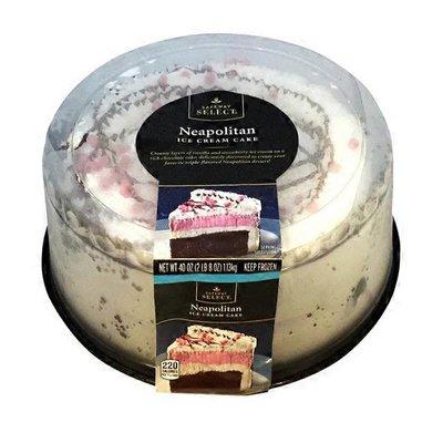 Signature Kitchens Neapolitan Ice Cream Cake