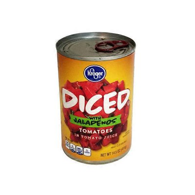 Kroger Tomatoes Diced With Jalapeños