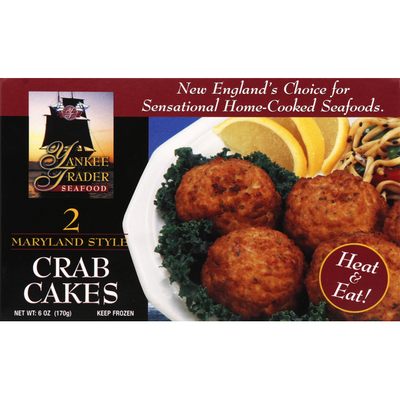 Yankee Trader Seafood Crab Cakes, Maryland Style