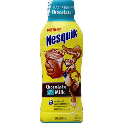 Nestle Nesquik Milk, Fat Free, Chocolate