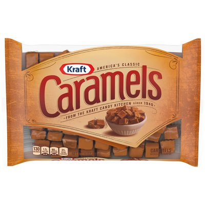 Kraft America's Classic Individually Wrapped Candy Caramels