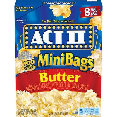 Act II Butter Popcorn Mini Bags