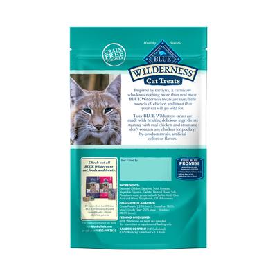 Blue Buffalo Wilderness Grain Free Soft-Moist Cat Treats, Chicken & Trout