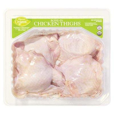 Wegmans Organic Bone-In Chicken Thighs