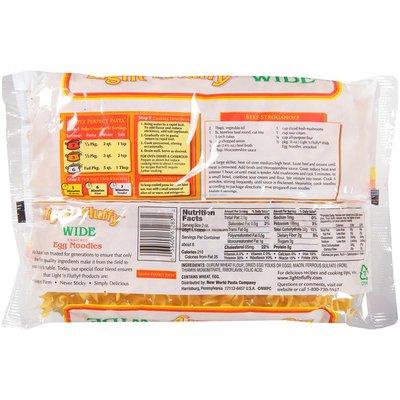 Light 'n Fluffy Wide Enriched Egg Noodles