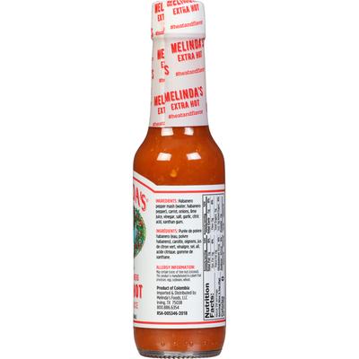 Melinda's Pepper Sauce, Original Habanero , Extra Hot