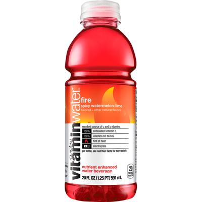 vitaminwater Glaceau Fire-KO 20 FL OZ PL BT PROP