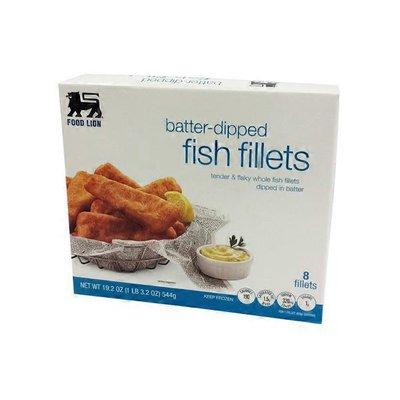 Food Lion Batter-dipped Fish Fillets