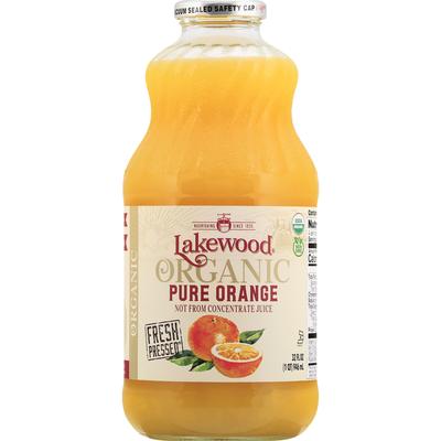 Lakewood Juice, Organic, Pure Orange