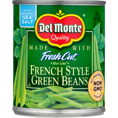 Del Monte Green Beans, French Style, Blue Lake