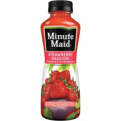 Minute Maid Strawberry Passion Bottle