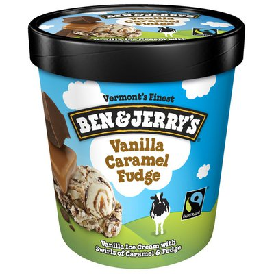 Ben & Jerry's Ice Cream Vanilla Caramel Fudge