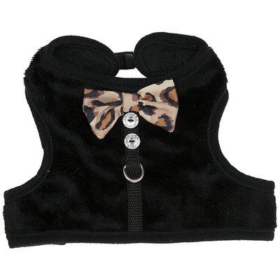 Petco Glam Cat Black Suit & Tie Cat Harness One Size