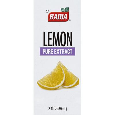 Badia Spices Pure Extract Lemon