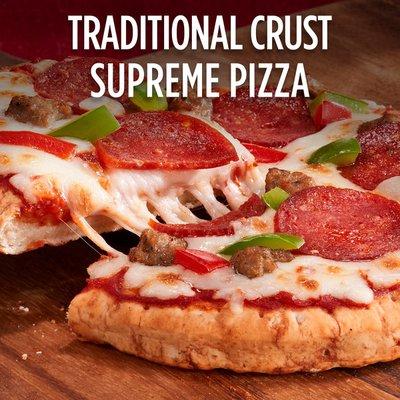 DiGiorno Supreme Frozen Personal Pizza on a Traditional Crust