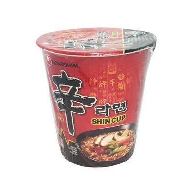 Nongshim Shanghai Cup Noodle Spicy Mushroom