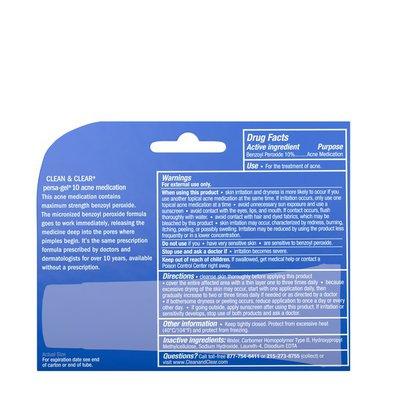 Clean & Clear Persa-Gel 10 Acne Medication