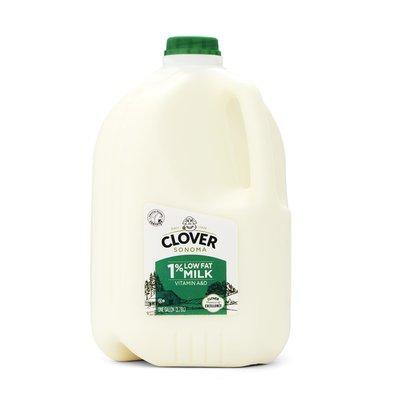 Clover Sonoma Lowfat Milk, 1% Milkfat