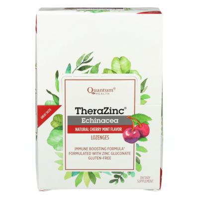 Quantum Zinc Echinacea Lozenges, Cherry-Mint