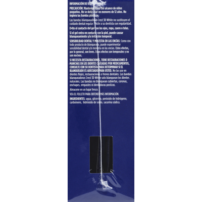 Crest Whitestrips Dental Whtng Sys Crest 3D White Whitestrips Classic Vivid - Teeth Whitening Kit 12 Treatments  Oral Care
