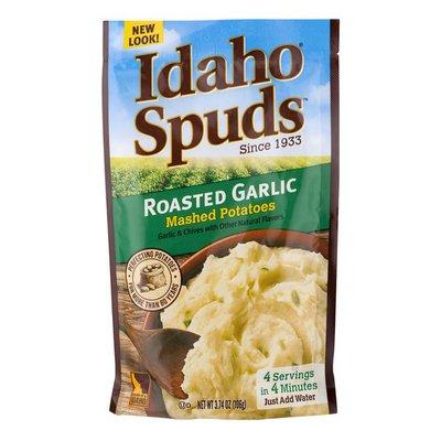 Idaho Spuds Roasted Garlic Mashed Potatoes