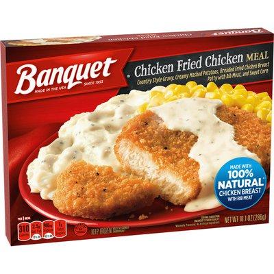 Banquet Classic Chicken Fried Chicken Meal