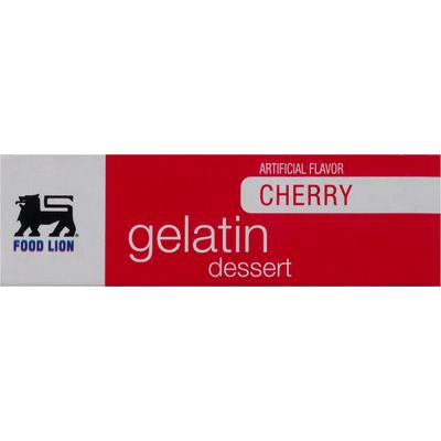 Food Lion Gelatin Dessert, Cherry