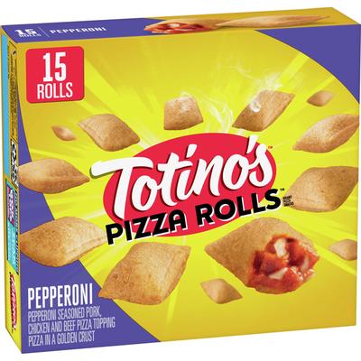Totino's Pizza Rolls, Pepperoni, 15 Rolls (frozen)