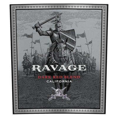 Ravage Dark Red Blend Red Wine