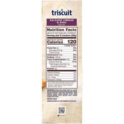 Triscuit Balsamic Vinegar & Basil Crackers