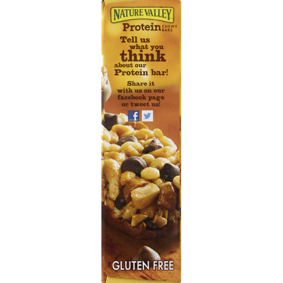Nature Valley Protein Bars, Peanut Butter Dark Chocolate Flavored, Chewy