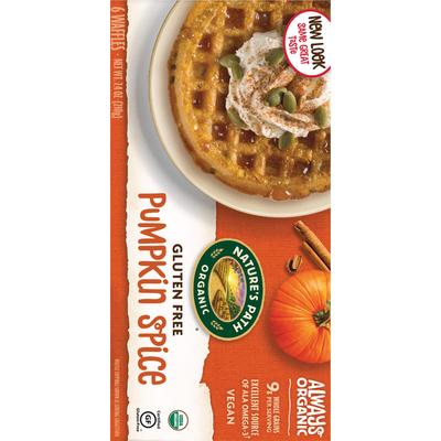 Nature's Path Pumpkin Spice Waffles