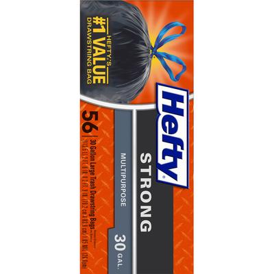Hefty Multipurpose Large Trash Drawstring Bags