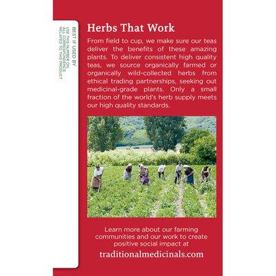 Traditional Medicinals Organic Throat Coat Lemon Echinacea, Caffeine Free Herbal Tea